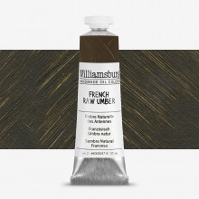 Williamsburg : Oil Paint : 37ml French Raw Umber