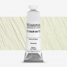 Williamsburg : Oil Paint : 37ml Titanium White