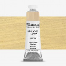 Williamsburg : Oil Paint : 37ml Unbleached Titanium