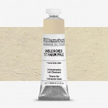 Williamsburg : Oil Paint : 37ml Unbleached Titanium Pale