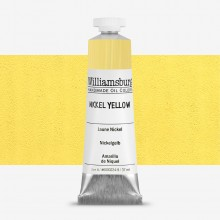 Williamsburg : Oil Paint : 37ml Nickel Yellow
