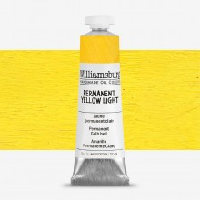 Williamsburg : Oil Paint : 37ml Permanent Yellow Light