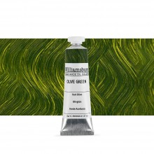 Williamsburg Oil Paint 37ml : Olive Green