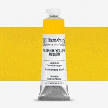 Williamsburg : Oil Paint : 37ml Cadmium Yellow Medium