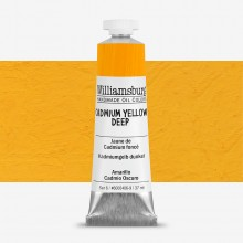 Williamsburg Oil Paint 37ml : Cadmium Yellow Deep