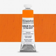Williamsburg : Oil Paint : 37ml Cadmium Yellow Extra Deep