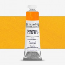 Williamsburg : Oil Paint : 37ml Permanent Yellow Deep