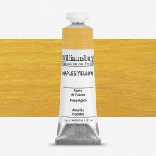 Williamsburg Oil Paint 37ml : Naples Yellow