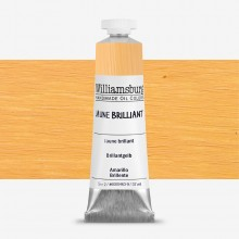 Williamsburg : Oil Paint : 37ml Jaune Brilliant