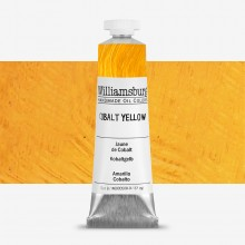 Williamsburg : Oil Paint : 37ml Cobalt Yellow