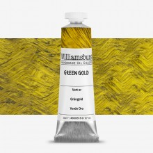 Williamsburg : Oil Paint : 37ml Green Gold
