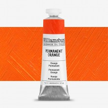 Williamsburg : Oil Paint : 37ml : Permanent Orange
