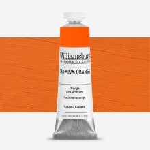 Williamsburg : Oil Paint : 37ml Cadmium Orange