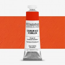Williamsburg Oil Paint 37ml : Cadmium Red Vermilion