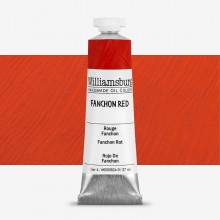 Williamsburg : Oil Paint : 37ml : Fanchon Red