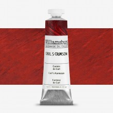 Williamsburg : Oil Paint : 37ml Carl's Crimson