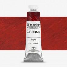 Williamsburg : Oil Paint : 37ml : Carl's Crimson