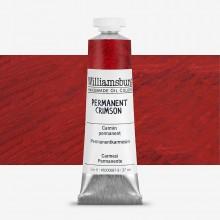 Williamsburg : Oil Paint : 37ml : Permanent Crimson