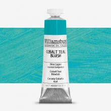 Williamsburg : Oil Paint : 37ml Cobalt Teal Bluish (Cobalt Teal Deep)