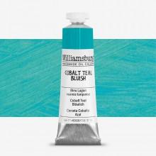 Williamsburg : Oil Paint : 37ml Cobalt Teal Bluish (Cobalt Teal Deep)