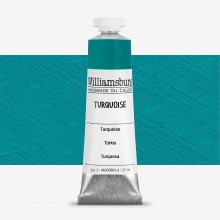 Williamsburg : Oil Paint : 37ml Turquoise