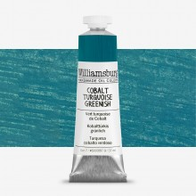Williamsburg : Oil Paint : 37ml Cobalt Turquoise Greenish