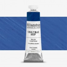 Williamsburg : Oil Paint : 37ml Cobalt Blue Deep