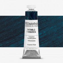 Williamsburg : Oil Paint : 37ml : Phthalo Turquoise