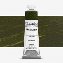 Williamsburg : Oil Paint : 37ml Earth Green