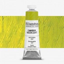 Williamsburg : Oil Paint : 37ml Cinnabar Green Light