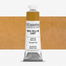Williamsburg : Oil Paint : 37ml : Mars Yellow Light