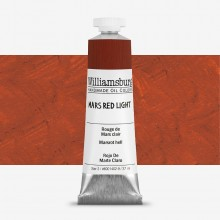 Williamsburg : Oil Paint : 37ml Mars Red Light