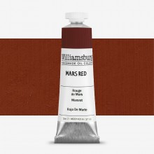Williamsburg : Oil Paint : 37ml : Mars Red