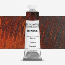 Williamsburg : Oil Paint : 37ml Brown Pink