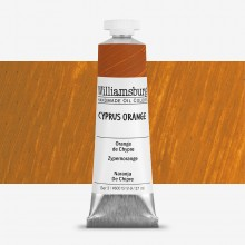 Williamsburg : Oil Paint : 37ml Cyprus Orange