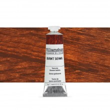 Williamsburg Oil Paint 37ml : Burnt Sienna
