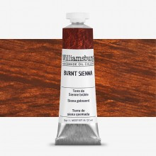 Williamsburg : Oil Paint : 37ml Burnt Sienna