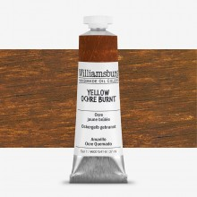 Williamsburg : Oil Paint : 37ml Yellow Ochre Burnt