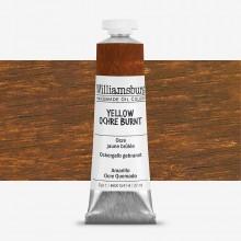 Williamsburg Oil Paint 37ml : Yellow Ochre Burnt