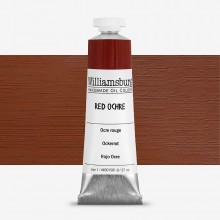Williamsburg Oil Paint 37ml : Red Ochre