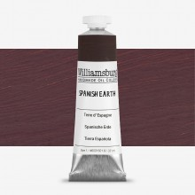 Williamsburg : Oil Paint : 37ml Spanish Earth