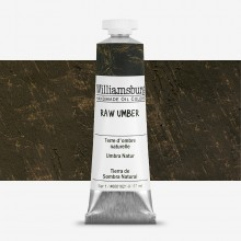 Williamsburg : Oil Paint : 37ml Raw Umber