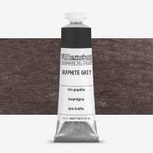 Williamsburg : Oil Paint : 37ml Graphite Grey