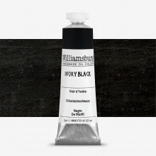 Williamsburg : Oil Paint : 37ml Ivory Black
