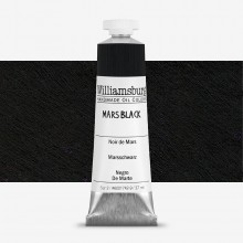 Williamsburg : Oil Paint : 37ml : Mars Black