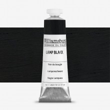 Williamsburg : Oil Paint : 37ml Lamp Black