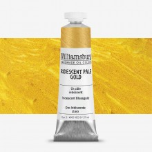 Williamsburg : Oil Paint : 37ml Iridescent Pale Gold