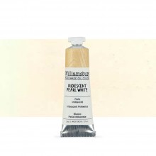 Williamsburg : Oil Paint : 37ml Iridescent Pearl White