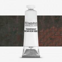 Williamsburg : Oil Paint : 37ml : Transparent Brown Iron Oxide