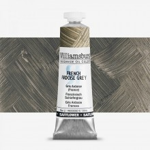 Williamsburg : Oil Paint : 37ml : Safflower Ardoise Grey